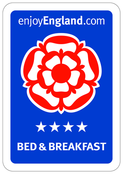 enjoy england 4 star b&b award